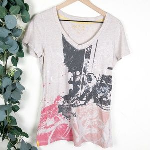 Lole | Spring Bicycle Floral Graphic Tee (CA 1042)